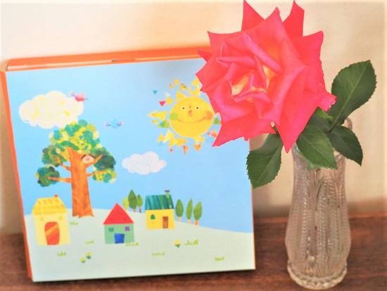 薔薇とカタログ